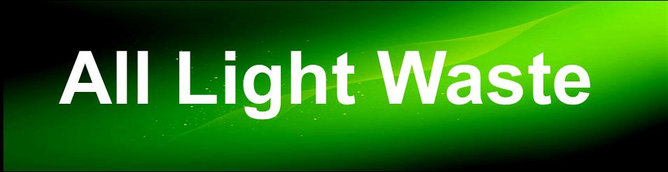 all light waste